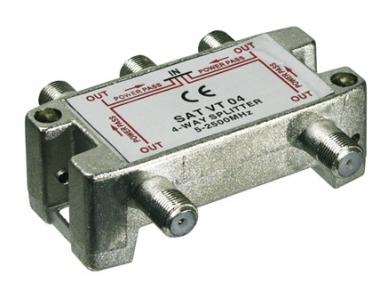 Daliklis 4 abonentams, (5-2450 MHz), F