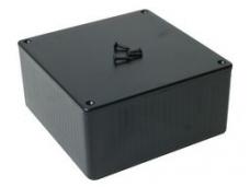 Dėžutė 120x120x55mm juoda