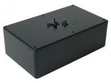 Dėžutė 191x110x57mm juoda