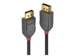 DisplayPort 1.2 kabelis 5m UHD 4K 21.6Gbps, Anthra Line