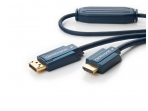 DisplayPort į HDMI kabelis 7.5m 1080p Clicktronic DP1.1