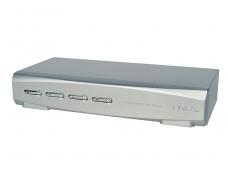 DisplayPort 1.2 KVM perjungėjas 4p, USB, Audio