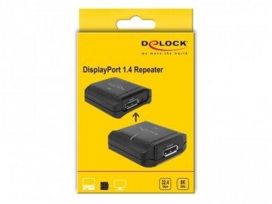 DisplayPort 1.4 stiprintuvas, 8K 30Hz, 10m 4