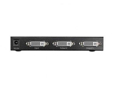 DVI-D SingleLink šakotuvas 1>2 1920x1200 60Hz 4