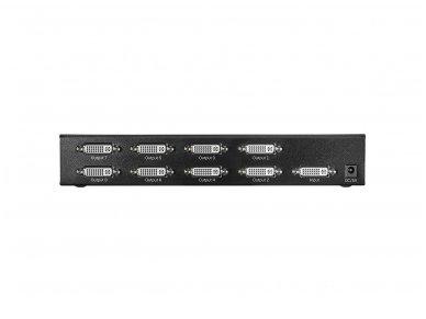 DVI-D SingleLink šakotuvas 1>8 1920x1200 60Hz 4