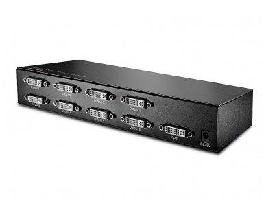 DVI-D SingleLink šakotuvas 1>8 1920x1200 60Hz 2