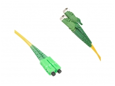 E2000APC/SC APC dvigubas vienmodis komutacinis kabelis 10m P