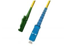E2000APC/SC viengubas vienmodis komutacinis kabelis 1m, P