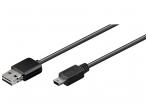 Easy USB kabelis A - mini B, 2m
