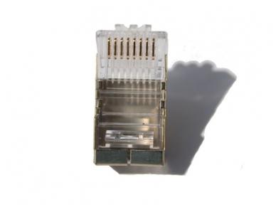 Ekranuotas kištukas RJ45 vieng. - daug. kabeliui, Commscope 3