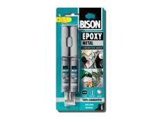 Epoksidiniai klijai BISON EPOXY Metal