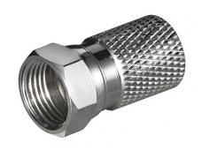 F kištukas kabeliui iki 8.2mm, varis