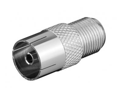 F(F) - IEC(F) 9.5mm adapteris