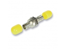 Lindy Fibre Optic Coupler - ST to ST. Multi-mode. Ceramic Ferrule