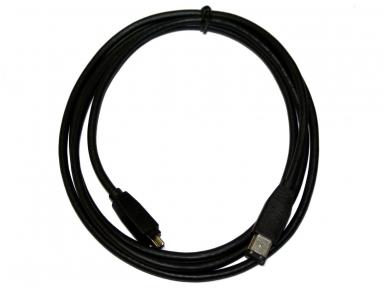 FireWire kabelis 6p - 4p 2m IEEE1394 2