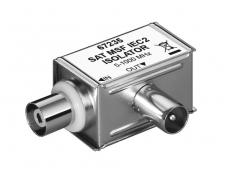 Galvaninis izol.adapt. IEC(M)-IEC(F) 5-1000MHz, kampinis