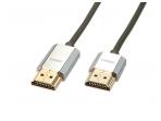 HDMI 2.0 cat2 4K kabelis 4.5m, Slim, CROMO