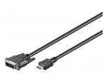 DVI-D - HDMI kabelis 10m 1080p