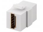 HDMI F-F perėjimas, Keystone tvirtinimas