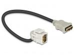 HDMI F - HDMI F perėjimas, Keystone, 110L 0.22m