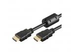 HDMI kabelis 15m 1080p 1.4 su feritais