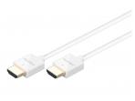 HDMI kabelis 1.5m 4K baltas, 4mm storio