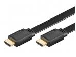 HDMI kabelis 1.5m 1080p 1.4 plokščias