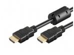 HDMI kabelis 2m 1080p 1.4 su feritais