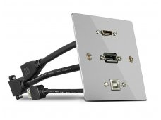 HDMI 2.0, DisplayPort 1.2, USB B panelė, 4K