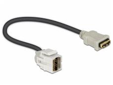 HDMI F - HDMI F perėjimas, Keystone, 250L 0.22m