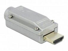 HDMI jungtis, tvirtinama su varžteliais