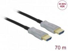 HDMI optinis kabelis 70m, 4K 60Hz 18G