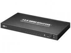 HDMI šakotuvas 1>8 2160p 4K