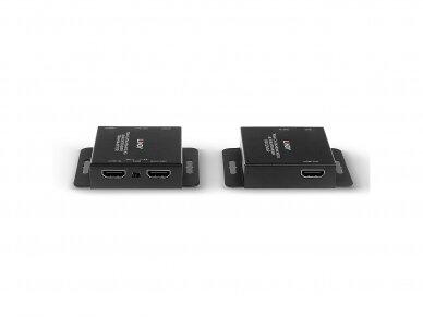 HDMI 10.2, IR ilgiklis per Cat6, 40m 3840x2160 30Hz 3