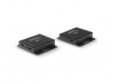 HDMI 10.2, IR ilgiklis per Cat6, 40m 3840x2160 30Hz 2