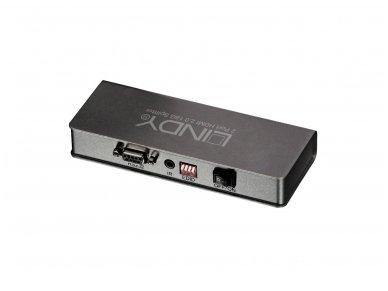 HDMI 2.0 18G šakotuvas 1>2 4K 60Hz 2