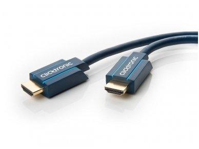 HDMI 2.1 8K kabelis 1.5m, Clicktronic, 48 Gbps, HDR
