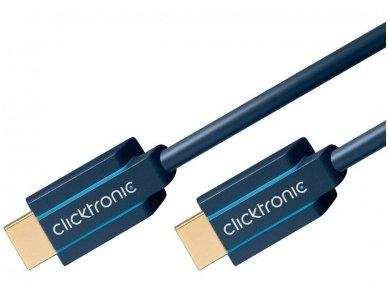 HDMI 2.1 8K kabelis 1m, Clicktronic, 48 Gbps, HDR 2