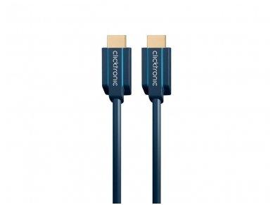 HDMI 2.1 8K kabelis 1m, Clicktronic, 48 Gbps, HDR 4