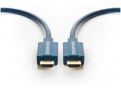 HDMI 2.1 8K kabelis 1m, Clicktronic, 48 Gbps, HDR 3
