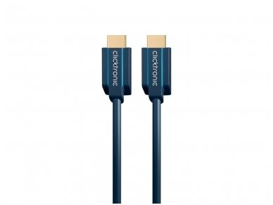 HDMI 2.1 8K kabelis 2m, Clicktronic, 48 Gbps, HDR 4