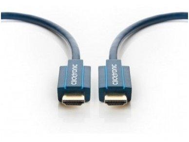 HDMI 2.1 8K kabelis 2m, Clicktronic, 48 Gbps, HDR 3