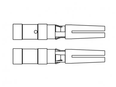 HVT socket kontaktai 6.0mm2