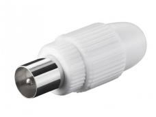 IEC (M) kištukas plastikinis