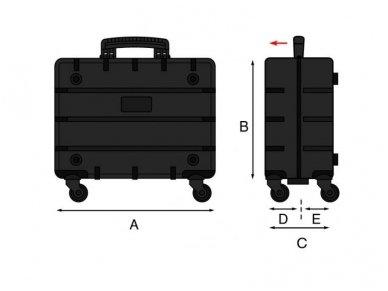 Įrankių lagaminas GT PIVOT PEL 417x323x274mm 6