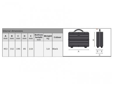 Įrankių lagaminas GT REVO SLIM PTS 3