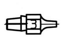 Išlitavimo antgalis DX113 1,2mm