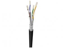 Išorinis kabelis S/FTP kat.7, 900MHz, viengyslis PE