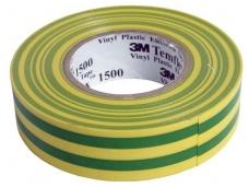 Izoliacinė juosta geltona/žalia 0,15mmx19mmx20m