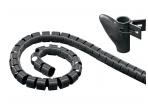 Kabelių apsauga 20mm 2.5m, juoda